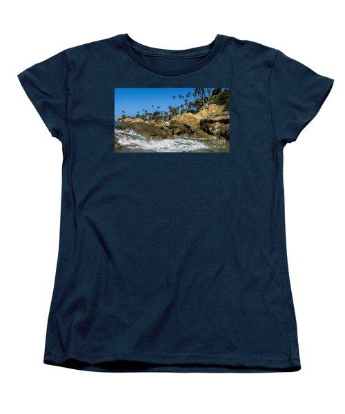 Splash Women's T-Shirt (Standard Cut) by Tammy Espino