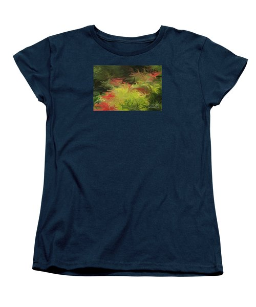 Jardin De Picasso  Women's T-Shirt (Standard Cut) by The Art of Alice Terrill