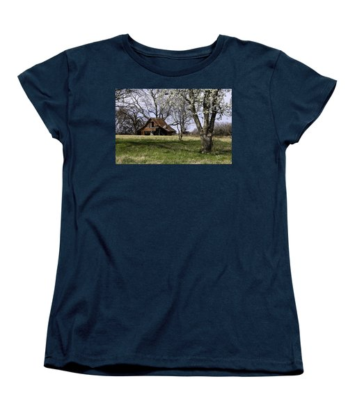 Women's T-Shirt (Standard Cut) featuring the photograph Spring At The Farm In Tyler Tx by Betty Denise