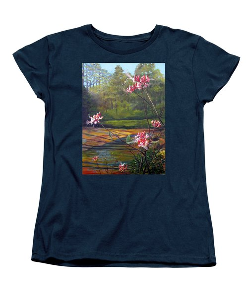 Spring Blooms On The Natchez Trace Women's T-Shirt (Standard Cut) by Jeanette Jarmon