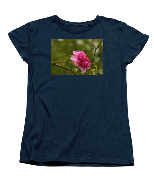 Spring Showers Women's T-Shirt (Standard Cut) by Peggy Hughes