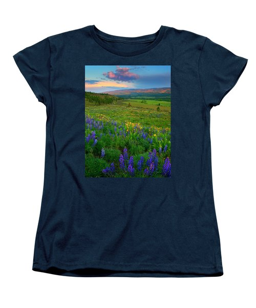 Spring Storm Passing Women's T-Shirt (Standard Cut) by Mike  Dawson