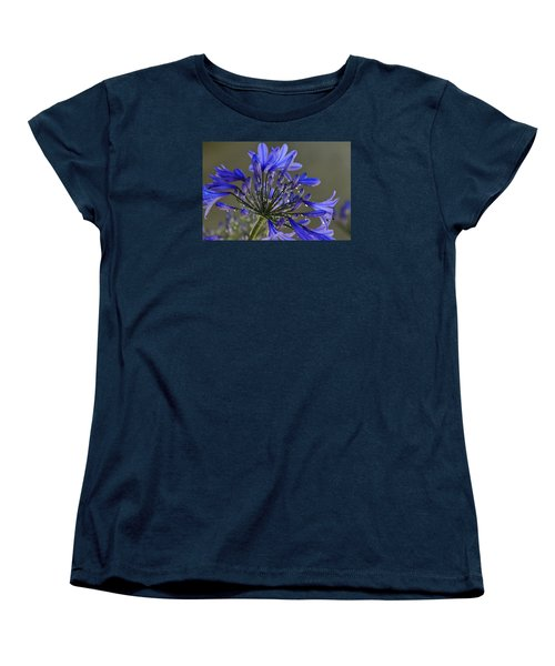 Spring Time Blues Women's T-Shirt (Standard Cut) by Menachem Ganon