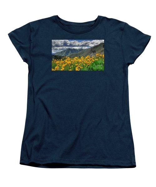 Women's T-Shirt (Standard Cut) featuring the photograph Springtime At Gallagher by Sam Rosen