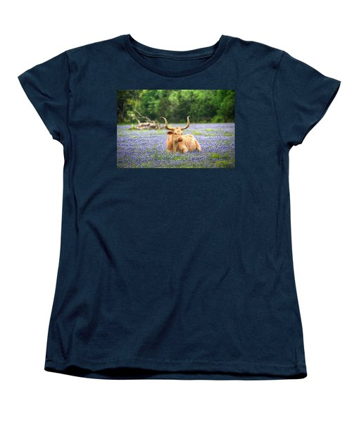Springtime In Texas Women's T-Shirt (Standard Cut) by Dave Files