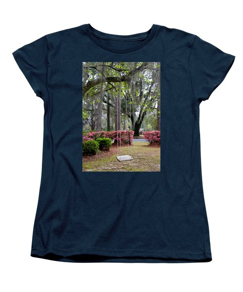 Springtime Swing Time Women's T-Shirt (Standard Cut) by Carla Parris