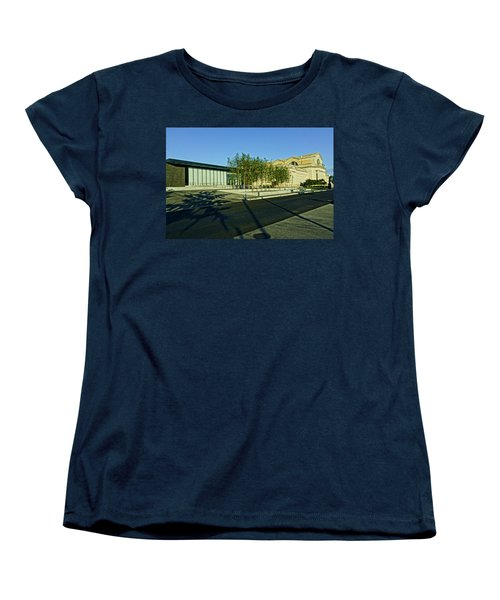 St Louis Art Museum New And Old Women's T-Shirt (Standard Cut) by Greg Kluempers