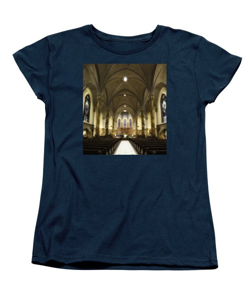 St Mary's Catholic Church Women's T-Shirt (Standard Cut) by Lynn Geoffroy