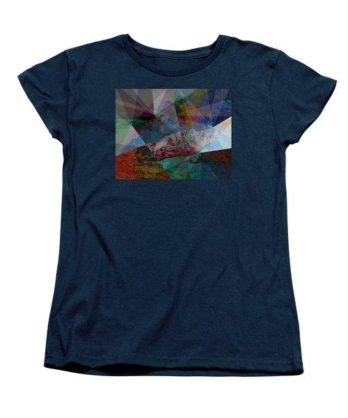 Stain Glass I Women's T-Shirt (Standard Cut) by David Bridburg