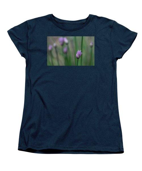 Women's T-Shirt (Standard Cut) featuring the photograph Not Just A Pretty Flower by Debbie Oppermann