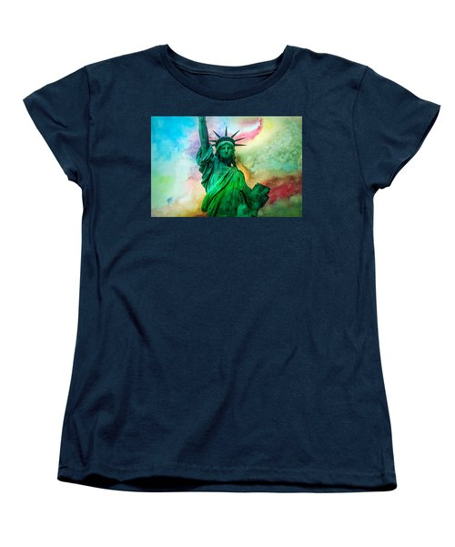 Stand Up For Your Dreams Women's T-Shirt (Standard Cut) by Az Jackson