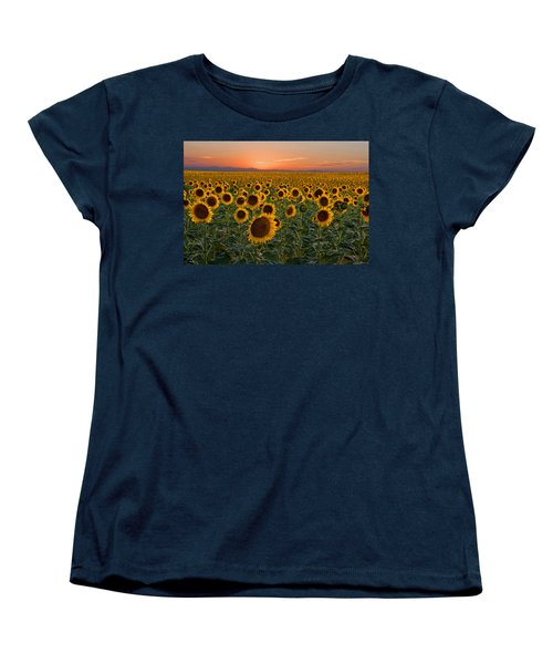 Standing At Attention Women's T-Shirt (Standard Cut) by Ronda Kimbrow