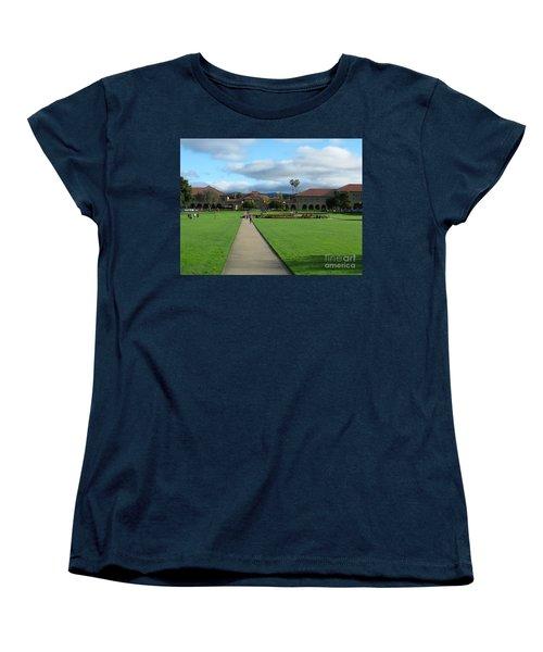 Stanford University Women's T-Shirt (Standard Cut) by Mini Arora