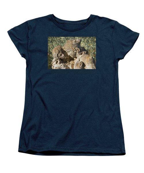 Star Crossed Lovers Women's T-Shirt (Standard Cut) by Steve Purnell
