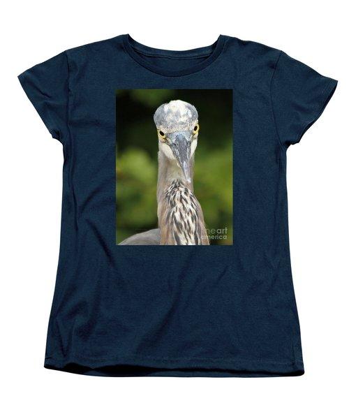 Staredown Women's T-Shirt (Standard Cut) by Heather King