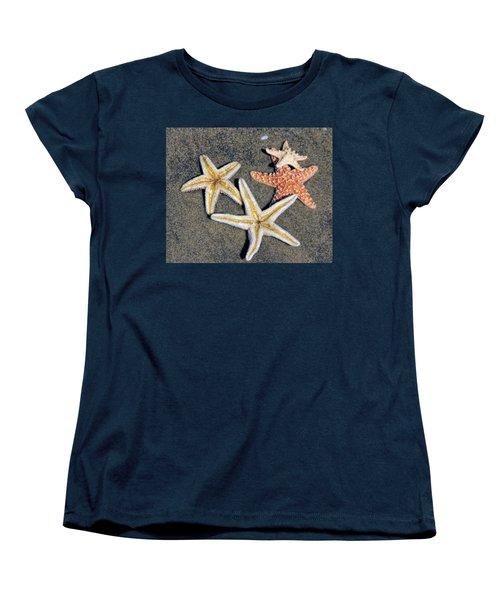 Starfish Women's T-Shirt (Standard Cut) by Tammy Espino