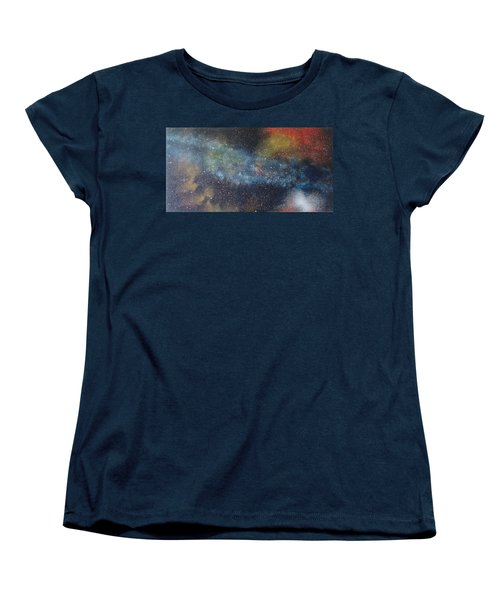 Stargasm Women's T-Shirt (Standard Cut) by Sean Connolly