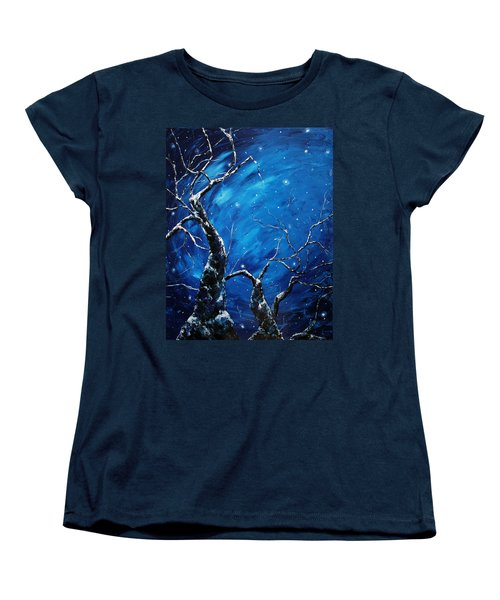Stargazer Women's T-Shirt (Standard Cut) by Meaghan Troup