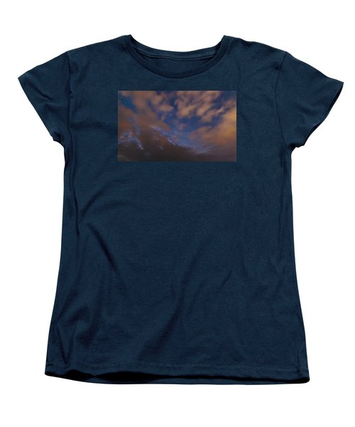 Women's T-Shirt (Standard Cut) featuring the photograph Starlight Skyscape by Marty Saccone