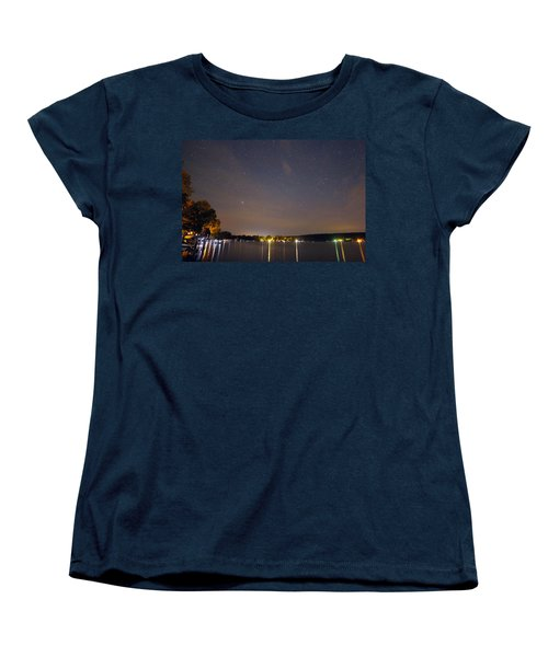 Stars Over Conesus Women's T-Shirt (Standard Cut) by Richard Engelbrecht