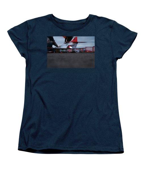 Women's T-Shirt (Standard Cut) featuring the photograph Startup by David S Reynolds
