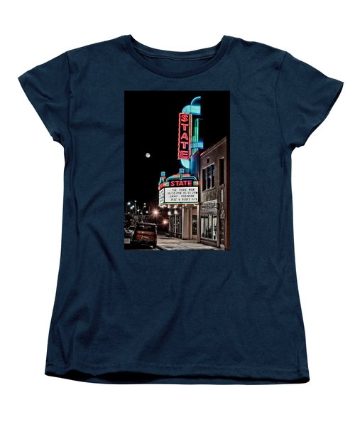 State Theater Women's T-Shirt (Standard Cut) by Jim Thompson