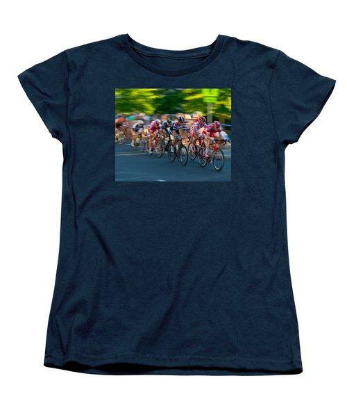 Stay Focused Women's T-Shirt (Standard Cut) by Kevin Desrosiers