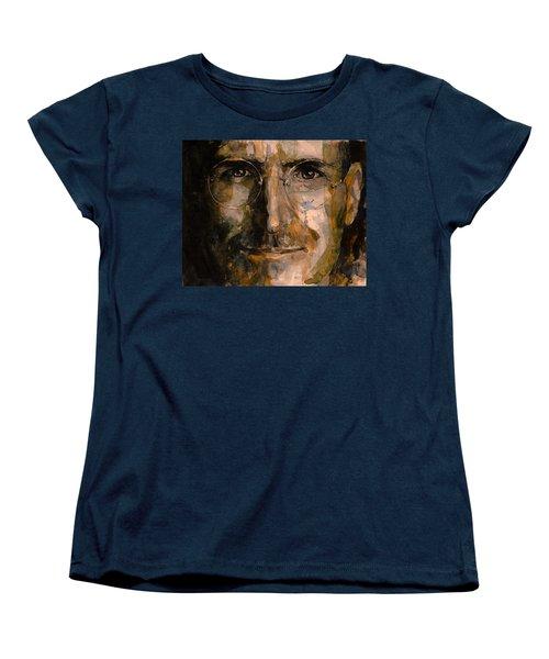Women's T-Shirt (Standard Cut) featuring the painting Steve... by Laur Iduc