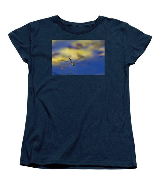 Women's T-Shirt (Standard Cut) featuring the photograph Stealth Chopper by Gary Holmes