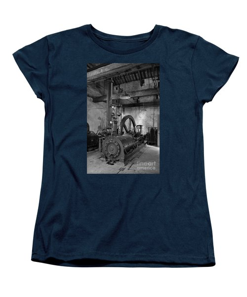 Steam Engine At Locke's Distillery Women's T-Shirt (Standard Cut) by RicardMN Photography
