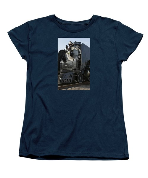 Steam Engine U P 844 Women's T-Shirt (Standard Cut) by Jane Eleanor Nicholas
