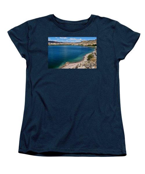 Women's T-Shirt (Standard Cut) featuring the photograph Steinacker Reservoir Utah by Janice Rae Pariza