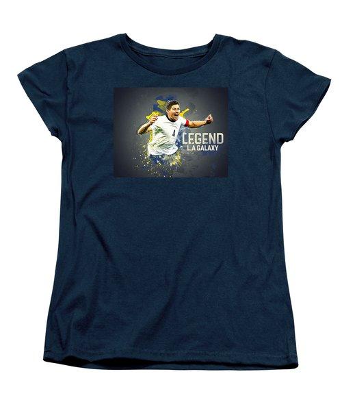 Steven Gerrard Women's T-Shirt (Standard Cut) by Taylan Apukovska