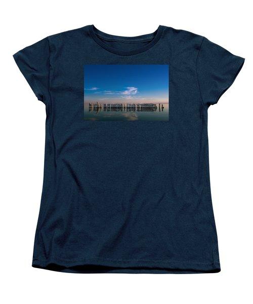 Still Water Women's T-Shirt (Standard Cut) by Ralph Vazquez