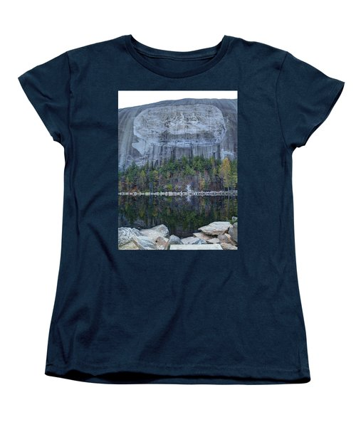 Stone Mountain - 2 Women's T-Shirt (Standard Cut) by Charles Hite