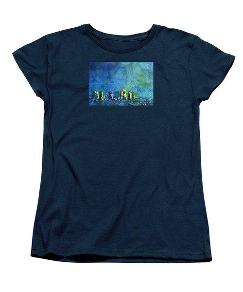 Stonehenge In Moonlight Women's T-Shirt (Standard Cut)