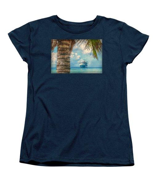 Stopover In Paradise Women's T-Shirt (Standard Cut)
