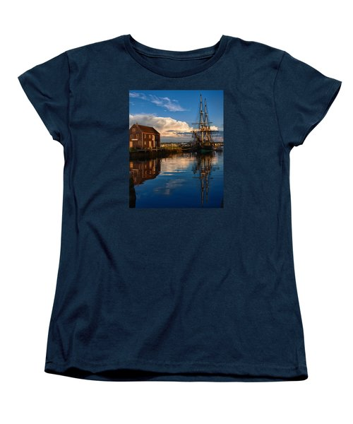 Storm Clearing Friendship Women's T-Shirt (Standard Cut) by Jeff Folger