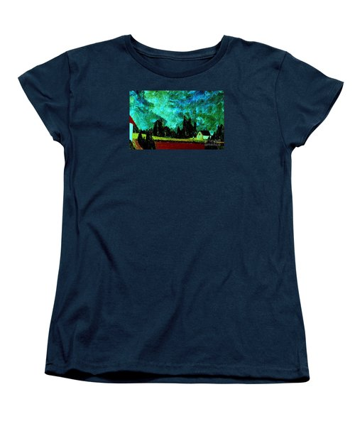 Women's T-Shirt (Standard Cut) featuring the painting Stormlight by Bill OConnor