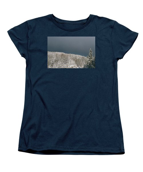 Storm's A'brewin' Women's T-Shirt (Standard Cut) by David Porteus