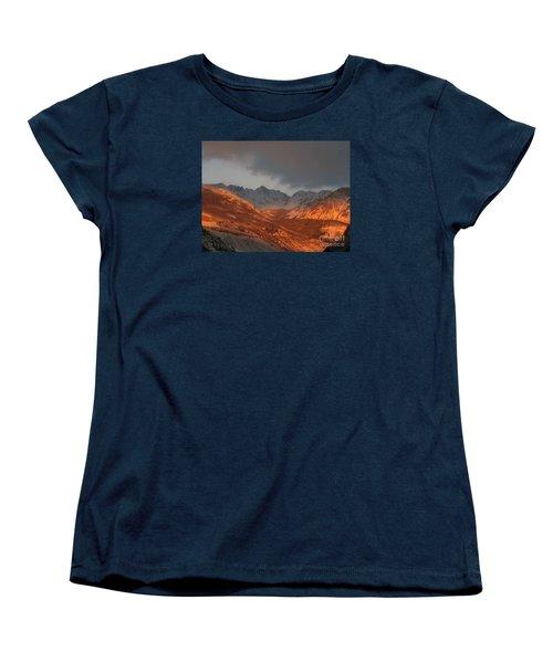 Women's T-Shirt (Standard Cut) featuring the photograph Stormy Monday by Fiona Kennard