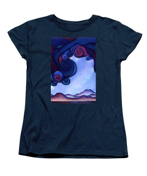 Stormy Women's T-Shirt (Standard Cut) by Susan Will