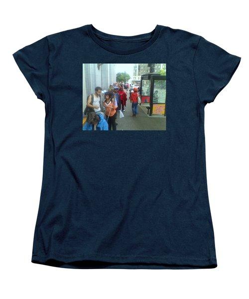 Street Scene Women's T-Shirt (Standard Cut) by David Trotter