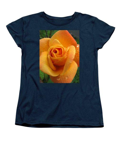 Women's T-Shirt (Standard Cut) featuring the photograph Strike It Rich - My Summer Garden by Brooks Garten Hauschild