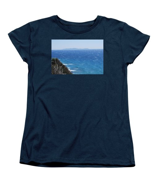Women's T-Shirt (Standard Cut) featuring the photograph Strong Mistral by George Katechis