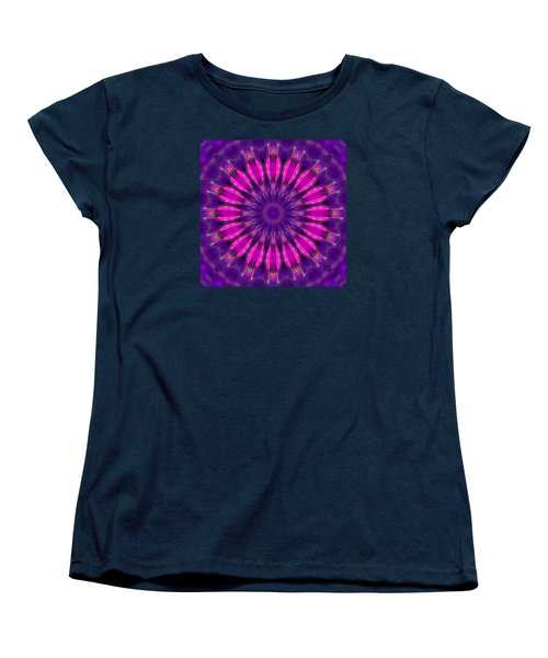 Women's T-Shirt (Standard Cut) featuring the photograph Study In Pink And Purple by I'ina Van Lawick
