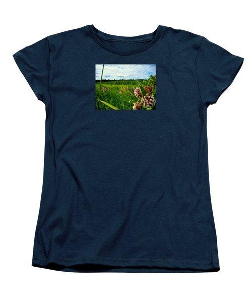 Summer Breeze Women's T-Shirt (Standard Cut) by Zafer Gurel