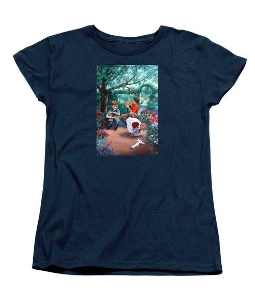 Summer Days Women's T-Shirt (Standard Cut) by Vivien Rhyan