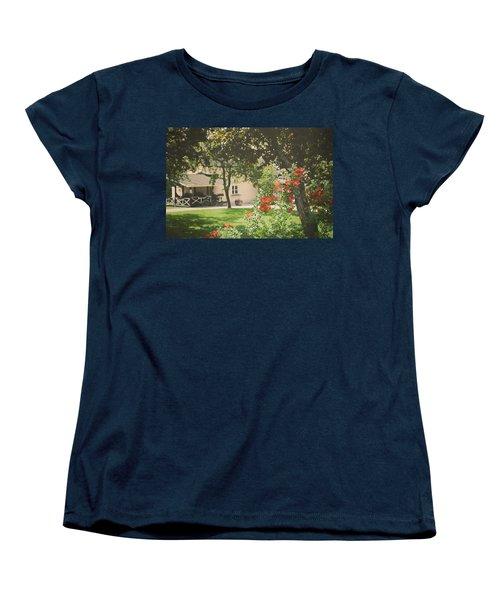 Women's T-Shirt (Standard Cut) featuring the photograph Summer In The Park by Ari Salmela