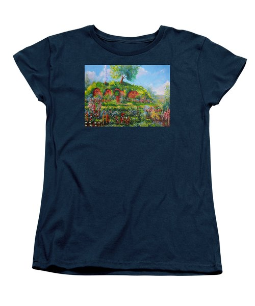 Summer In The Shire Women's T-Shirt (Standard Cut) by Joe  Gilronan